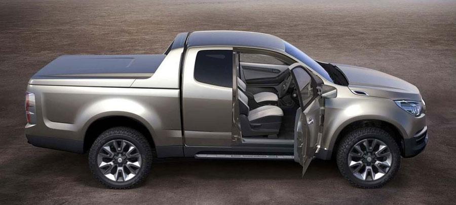 Chevrolet Colorado-2х дверный и задний привод
