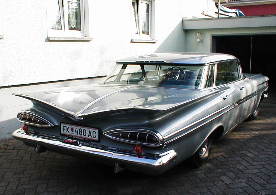 Сhevrolet impala 1959 задние фары