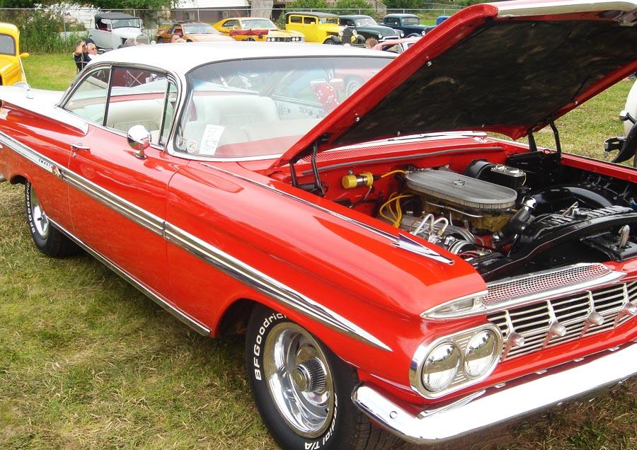 Сhevrolet impala 1959 движок