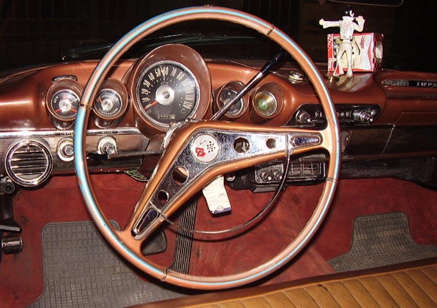 Сhevrolet impala 1959 салон