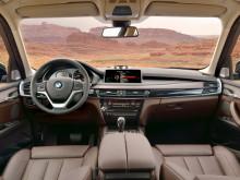 Салон нового BMW X5 2014 модельного года
