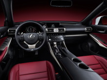 Интерьер Lexus IS 250 2014