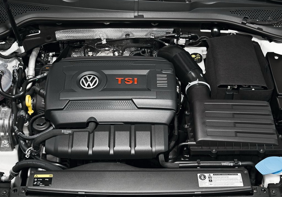 Volkswagen Golf GTI 7 двигатель