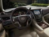 Оформление интерьера нового Кадиллак Эскалейд 4-го поколения