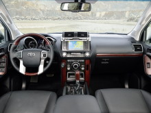 Фото салона нового Toyota Land Cruiser Prado 2014