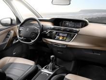 Салон нового Citroen C4 Picasso 2-го поколения