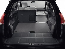 Багажное отделение со сложенными спинками сидений