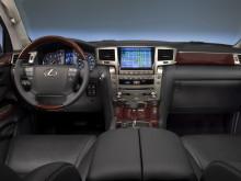 Салон Lexus LX 570 2014 фото