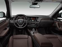 Салон BMW X3 2014-2015