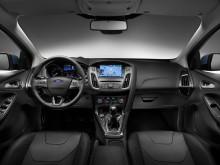 Салон обновленного Форд Фокус 3 2015 модельного года