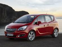Экстерьер Opel Meriva 2014 фото
