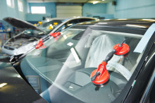 Вакуумные съемники для снятия/установки лобового стекла