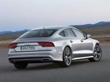 Audi A7 2015 - фото кормы