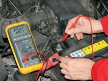 Измерение тока утечки в бортовой сети автомобиля
