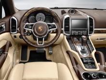 Салон нового Porsche Cayenne 2015