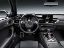 Интерьер обновленного Audi A6 2015-2016