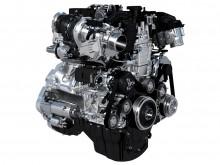 Двигатель нового Jaguar XE 2015