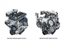 Дизельный и бензиновый моторы нового УАЗ Патриот 2015
