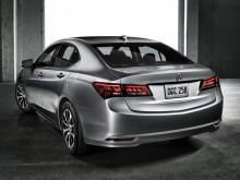 Корма Acura TLX 2015 фото