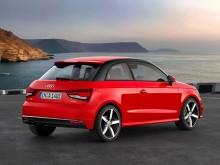 Audi A1 2015 – рестайлинг маленького хэтчбека