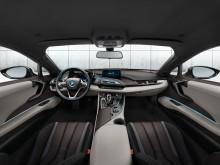 Салон BMW i8 фото