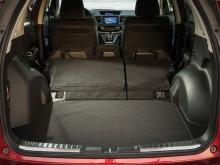 Вместительный багажник нового Honda CR-V 2015