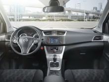 Дизайн интерьера Nissan Tiida 2015-2016