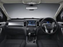 Салон Ford Ranger 2015-2016 - фото