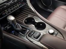 Центральный тоннель нового Lexus RX