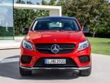 Mercedes-Benz GLE Coupe - вид спереди фото