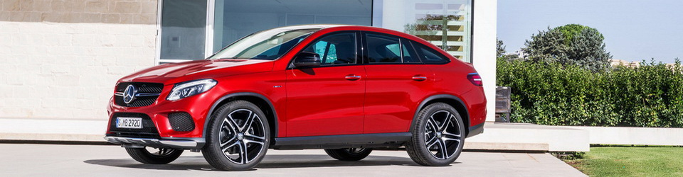 Mercedes-Benz GLE Coupe 2015-2016