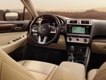 Интерьер Subaru Outback 2015-2016 - фото