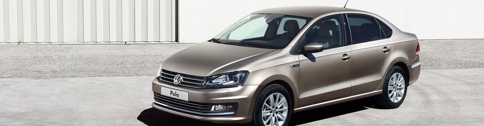 Volkswagen Polo sedan 2015-2016