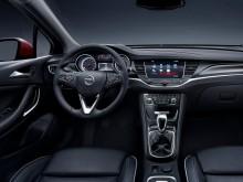 Интерьер Opel Astra K 2016-2017 фото