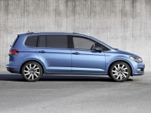 Профиль Volkswagen Touran 2015-2016 фото