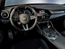 Современный интерьер Alfa Romeo Giulia 2015-2016 фото