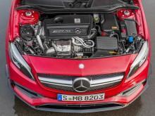 Мотор Mercedes-Benz A45 AMG фото