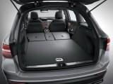 Багажник Мерседес GLC со сложенными спинками сидений