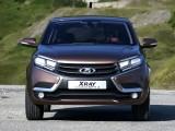 Оформление носовой части Lada XRay фото