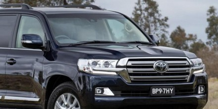 Toyota Land Cruiser 200 2016-2017