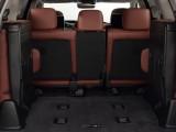 Багажник LX 570 со сложенным 3-м рядом сидений