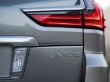 Новая задняя оптика флагманского Lexus