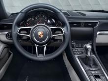 Интерьер нового Porsche 911 Carrera фото