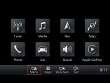 Интерфейс нового мультимедийного комплекса Порше 911 Каррера