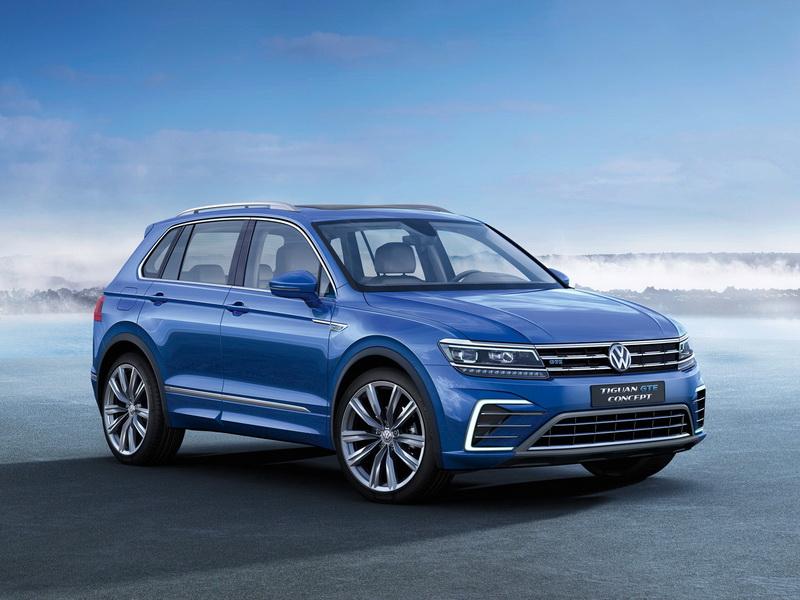 Volkswagen Tiguan 2016 цена в России - TOPRUSCAR