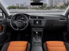 Дизайн интерьера R-Line версии Volkswagen Tuguan 2016 модельного года