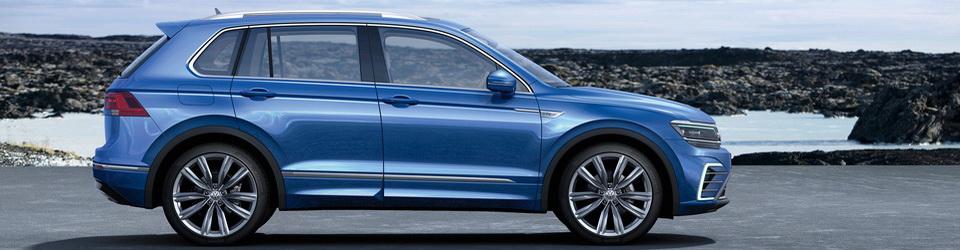 Volkswagen Tiguan 2016 – вторая генерация