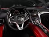 Рулевое колесо и передняя панель Acura NSX
