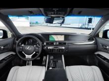 Архитектура салона Lexus GS с индексом F