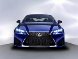 Дизайн носовой части Lexus GS F 2016-2017 фото
